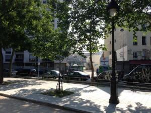 Balade et pique nique sur la future trame verte du 11e for Jardin truillot