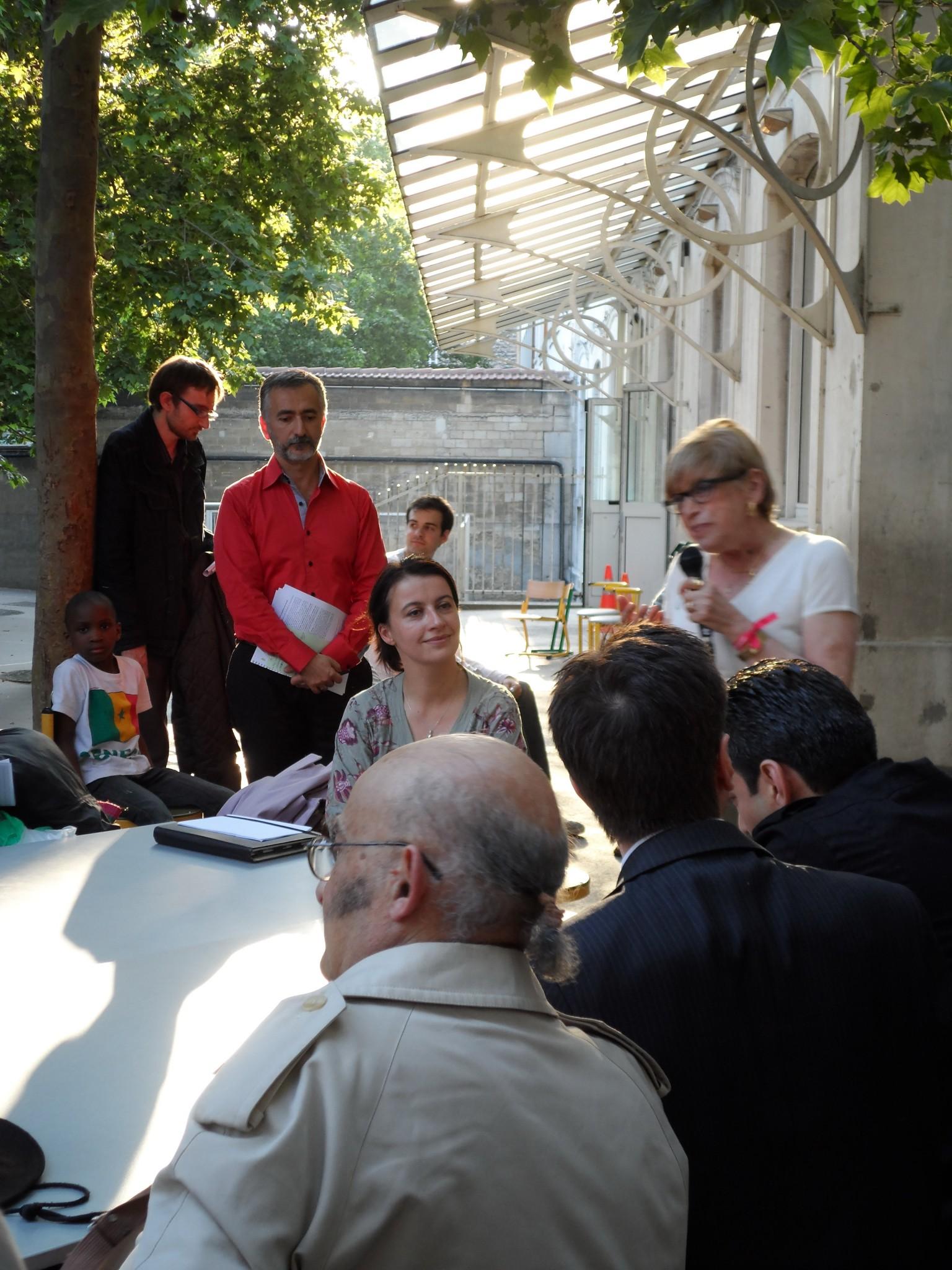 R union publique site du groupe local de paris xi for Jardin truillot